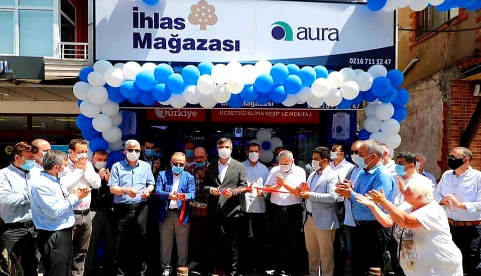 Şile'de İhlas Mağazası açıldı