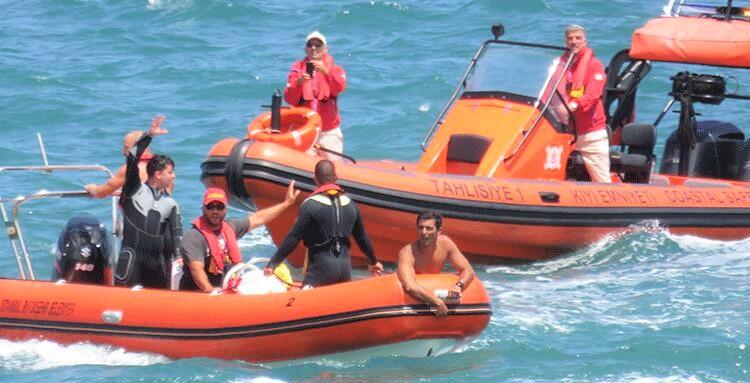 Şile cankurtaran ekipleri Beykoz'da can kurtardı!