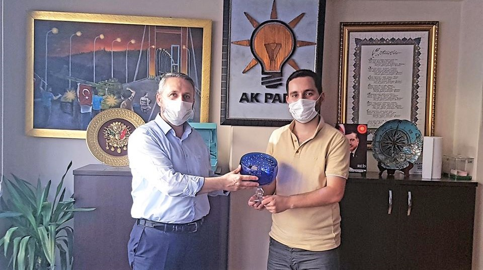 Şile Aktüel'den AK Parti'ye ziyaret