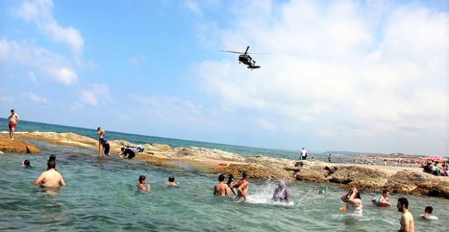 Jandarma'dan Şile ve Ağva'da helikopterli denetim!