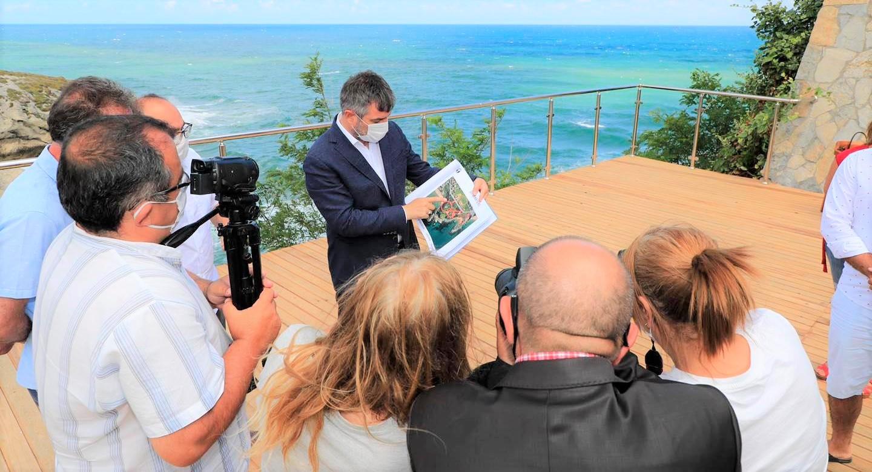 Başkan İlhan Ocaklı, emektar yerel basınla buluştu