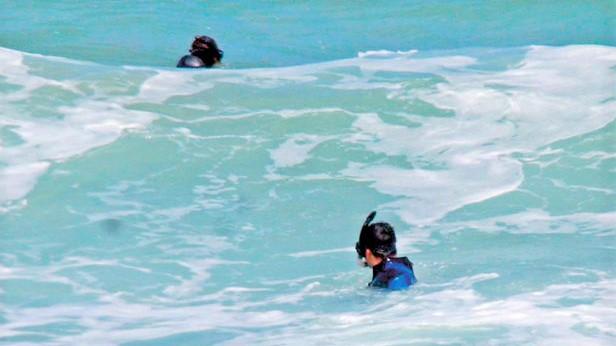 Şile'de denizde yüzen kişi kayboldu!