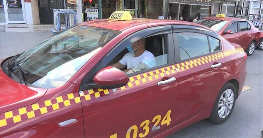 Şile'ye bordo renkli taksiler tarih oluyor