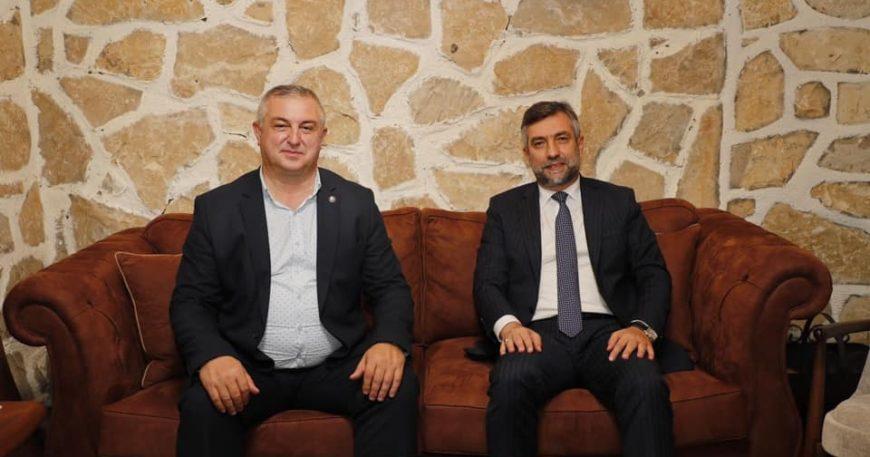 Geyikli Belediye Başkanı Şile'nin misafiri oldu