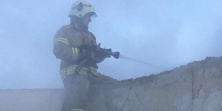 Şile Karacaköy'de yangın