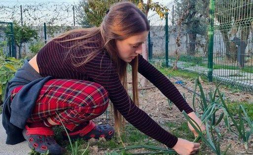 Gizem Karaca Şile'de organik tarıma başladı