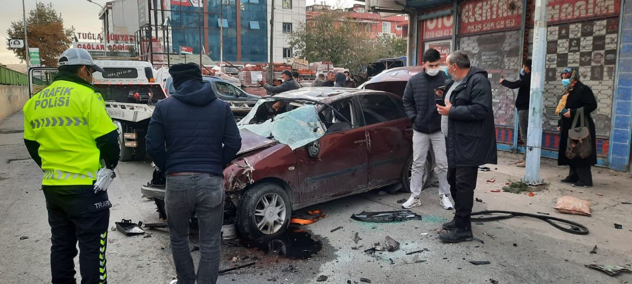 Çekmeköy-Şile Yolunda feci kaza
