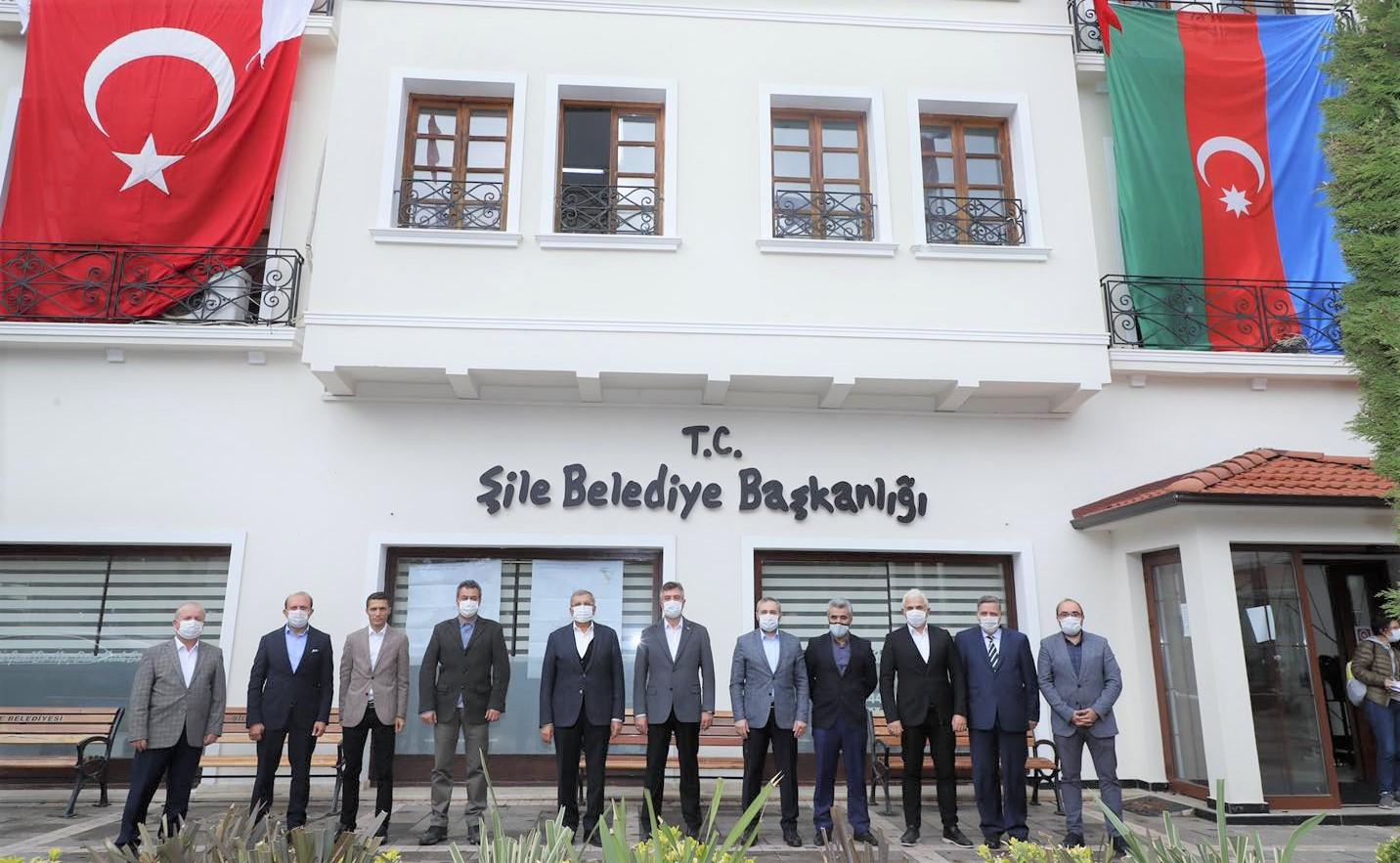 Şile ve Beykoz Belediyeleri kardeşlik protokolü imzaladı!