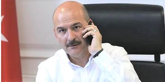 İçişleri Bakanı Süleyman Soylu'ya Mücahit Ak'tan geçmiş olsun telefonu