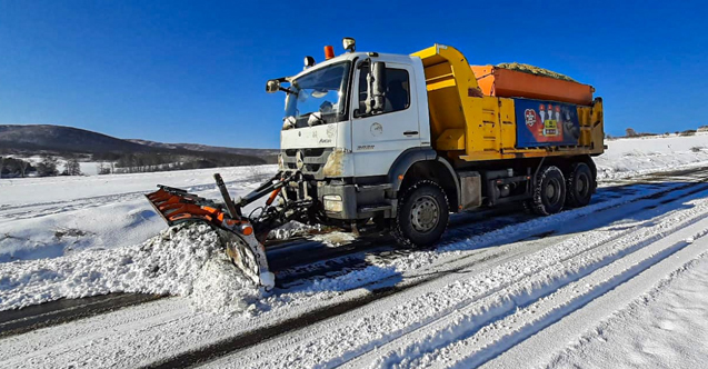 Şile'de kar kalınlığı 70 cm ölçüldü