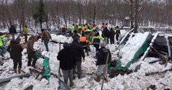 Kar nedeniyle Şile'de ahırın çatısı düştü