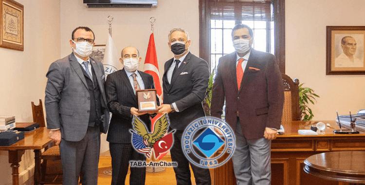 Boğaziçi Üniversitesi ve TABA AmCham işbirliğini konuştular