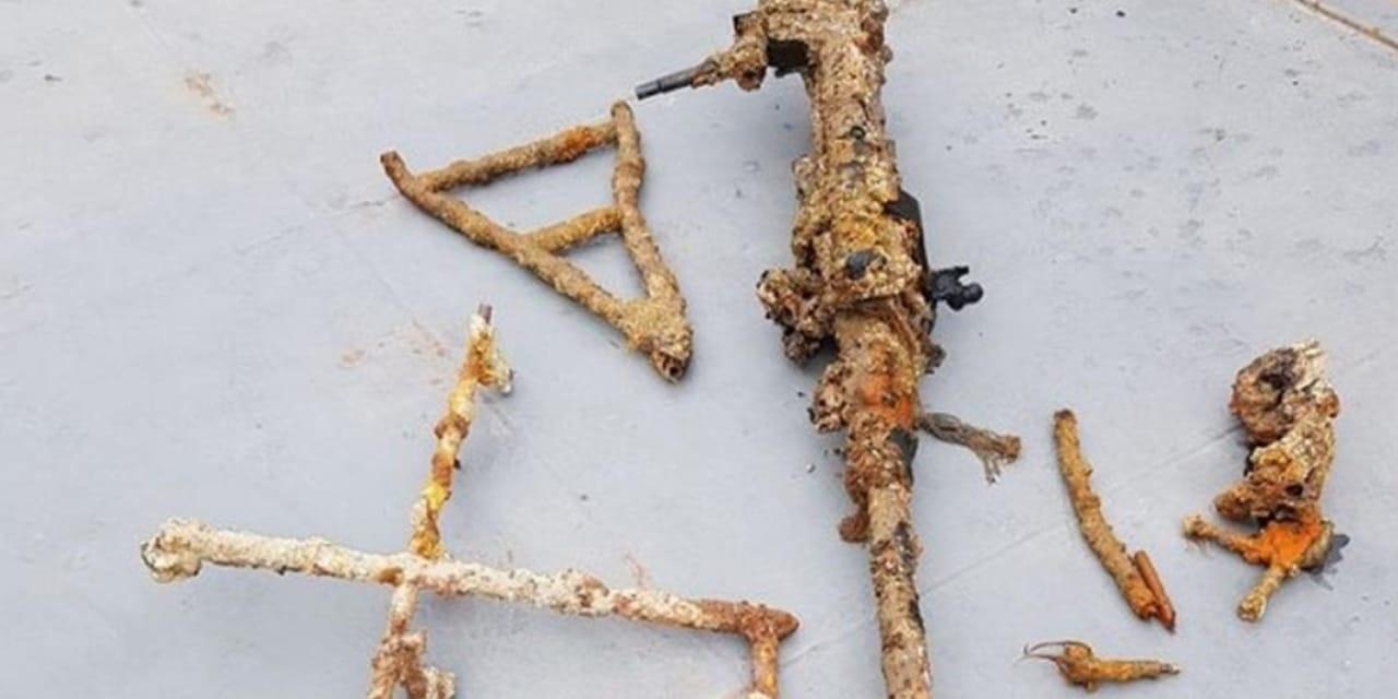 Şile açıklarında Alman denizaltısına ait top bulundu