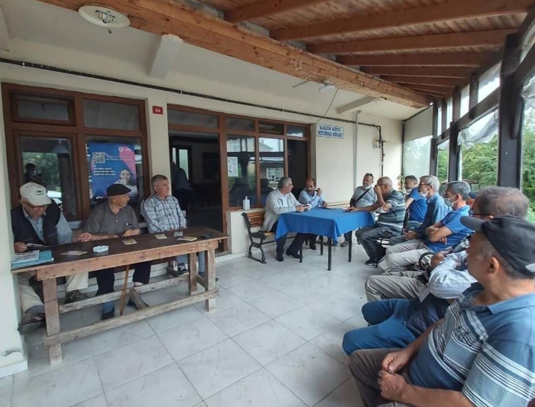 CHP Şile, mahallelerdeki meseleleri yerinde dinledi