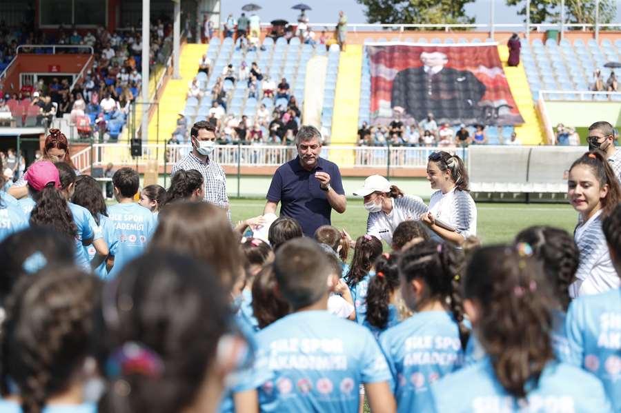 Şile'de 1280 sporcu eğitim aldı
