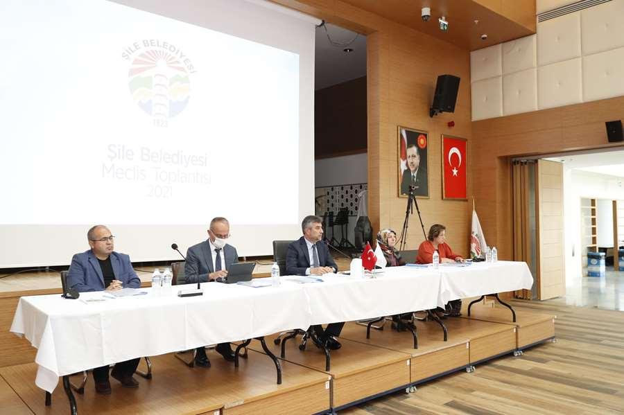 Şile Belediye Meclisi'nde ne görüşüldü?